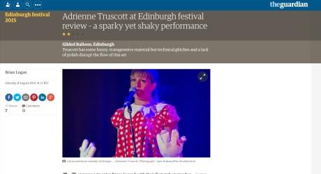 Adrienne Truscott, Guardian 08.08.15
